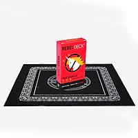 Combo Bộ Bài Bói Tarot REBEL DECK - The Oracle with Attitude - Oracle Deck (60 Cards) và Khăn Trải Bàn Tarot