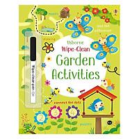 Sách tẩy xóa tiếng Anh - Usborne Garden Activities