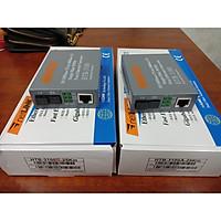 Cặp Converter Quang Netlink Single 100MB Mode 1 Sợi Quang - Hàng Nhập Khẩu