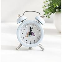 Đồng hồ báo thức để bàn mini đầu Unicorn xanh ngọc