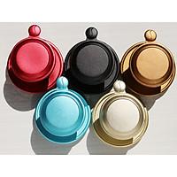 Set 5 phin nhôm pha cà phê sắc màu chất lượng cao phủ màu thực phẩm an toàn bằng công nghệ anodize