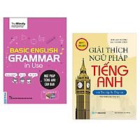Combo Basic English Gramma In Use: Ngữ Pháp Tiếng Anh Căn Bản (Phiên Bản Chibi) + Giải Thích Ngữ Pháp Tiếng Anh với Bài Tập Và Đáp Án