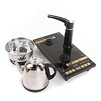 Bộ bếp trà điện xoay tự động