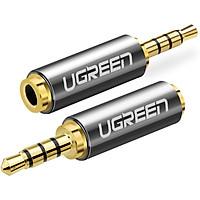 Đầu chuyển đổi 2.5mm đực sang 3.5mm cái dài 25mm UGREEN 20501 - Hàng chính hãng