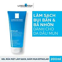 Gel Rửa Mặt Tạo Bọt Làm Sạch Dành Cho Da Dầu Nhạy Cảm La Roche Posay Effaclar Purifying Foaming Gel For Oily Sensitive Skin 200ml