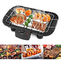 2000w Electric Multifunction BBQ Grill Teppanyaki Non Stick Barbeque Griddle Smokeless Hot