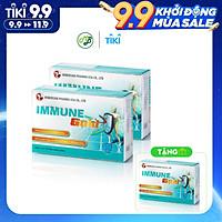 COMBO 2 tặng 1 TPCN Viên uống  Hỗ trợ Tăng sức đề kháng làm giảm nguy cơ mắc bệnh do đề kháng kém Immune Gold --Hộp 30 viên