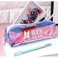 Túi bút hologram BTS đầy màu sắc