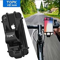 Giá đỡ điện thoại TOPK H03 trên xe đạp cho điện thoại iPhone, Samsung, Xiaomi,.... - Hàng chính hãng