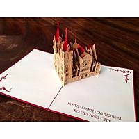 Thiệp 3D Thanh Toàn - Việt Nam - Nhà thờ đức bà TPHCM - L26