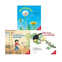 Sách Combo 3 cuốn Ehon Khoa Học khám phá thiên nhiên