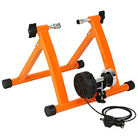 Foldable Magnetic Bike Trainer Stand with 5 Resistance Levels Cycling Rack Indoor Bicycle Exercise Training Stand for