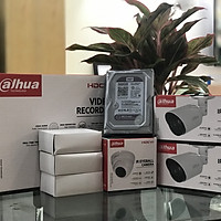 Combo bộ Camera Dahua XVR 1A04+ 3 CAMERA 2.0 Full HD 1080 chính hãng