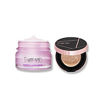 COMBO Phấn Nước Touch-In-Sol Pretty Filler Glam Beam Cover Cushion + kem cấp nước Touch in SOL Pretty Filter Waterful Glow Cream