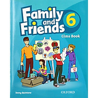 Family and Friends 6 Classbook (without MultiROM)