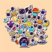 Set 30 sticker hình dán - Phi hành gia
