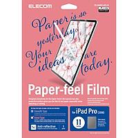 Miếng dán màn hình cho Ipad Pro 11 inches Elecom Paper- Feel TB-A18MFLAPL-W - Hàng chính hãng