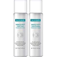 Combo Nước cân bằng da (nước hoa hồng) và Sữa dưỡng ẩm da Dr.Haskin - DrHaskin Miracle Ato Hydro Toner & Emulsion (cung cấp độ ẩm dịu nhẹ dành cho da khô và da mẫn cảm)
