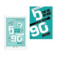 Combo 2 cuốn kĩ năng sống hay: 5 Giây Thay Đổi Suy Nghĩ Để Cải Thiện 90% Hiệu Suất (tặng kèm bookmark PĐ)