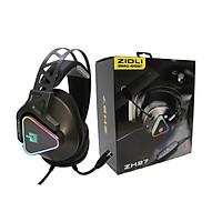 Tai nghe Gaming Zidli ZH27 Virtual 7.1 USB Black Led 7 màu_ Hàng chính hãng