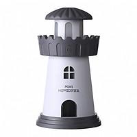 Máy xông tinh dầu làm thơm phòng Lighthouse Humidifer kiêm đèn ngủ màu sắc nhã nhặn