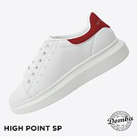 Giày Domba gót đỏ nhung H-9017