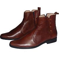 Giày boot da bò thật.MS: B121