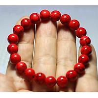 Vòng tay đá San Hô đỏ thiên nhiên