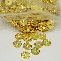 Túi 2000 xu vàng size 1.5cm Tài Lộc - May Mắn