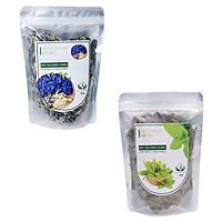 Combo 2 trà Hoa Đậu Biếc - Bạc Hà