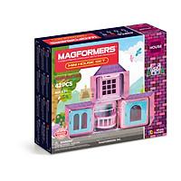 Đồ chơi xếp hình nam châm 3D Magformers - Ngôi nhà nhỏ 42 mảnh