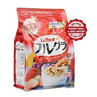 Ngũ Cốc Trái Cây Ăn Kiêng Calbee Nhật Bản Màu Đỏ - Gói 700g