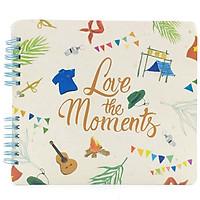 Sổ Lò Xo Lưu Bút - Love The Moments