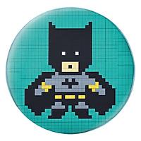Gối Ôm Tròn Batman Pixel - GOFF168