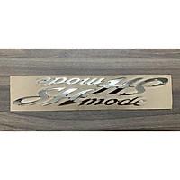 Tem chữ nổi dành cho xe SH Mode