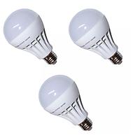 Đèn LED búp nhựa phủ matt cao cấp bộ 3 cái Gnesco 12W (sáng trắng)