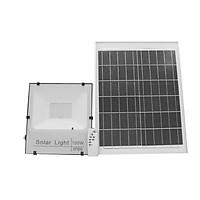 Đèn CVC Pha Led năng lượng mặt trời 100W - Siêu Sáng - Tự Động bật/ tắt - Có điều khiển từ xa,Pin 25W 36.5 x 3 x 55