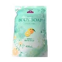 Sữa tắm collagen chiết xuất cam chanh Topvalu - Túi 400ml