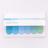 120 Miếng Giấy Ghi Chú Đánh Dấu Sách Bookmark Pastel