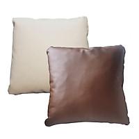 Gối sofa bmd da bò,gối tựa lưng,gối sofa,gối trang trí sofa,gối vuông BMD FURNITURE - Giao màu ngẫu nhiên