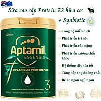 Sữa Tăng Cân Cho Bé 1 Tuổi Aptamil Essensis Protein A2 Hữu Cơ Số 3 NK Úc Giàu Dưỡng Chất Vitamin, Khoáng Chất, Omega-3, Men Vi Sinh Giúp Bé Phát Triển Toàn Diện Chiều Cao, Cân Nặng, Trí Não, Hỗ Trợ Tiêu Hóa Tốt, Tăng Chức Năng Hệ Miễn Dịch - Hộp 900g