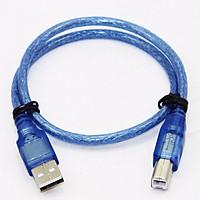Dây USB Máy In 1.5m Màu Xanh