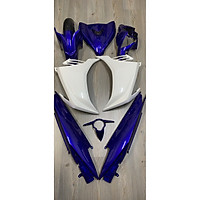 Bộ dàn áo xanh dương dành cho xe Exciter 2011 (đủ bộ 21 món)