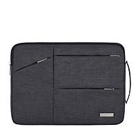 Túi chống sốc có quai xách tiện lợi, túi chống sốc 13 inch, 14 inch dành cho laptop, macbook, có ngăn ngoài đựng phụ kiện