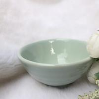 Chén ăn cơm màu xanh ngọc - Men sứ chống dính - Chắc chắn - Sang Trọng - Phong cách Nhật