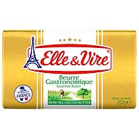 Bơ mặn Elle&Vire 200g 80% béo