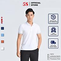 Áo Thun Nam 5S Có Cổ (4 Màu) Chất Liệu Cotton Premium, Siêu Mát, Phom Dáng Trẻ Trung, (APC21014)