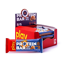 Hộp 12 Thanh Protein PLAY Vị Bơ Đậu Phộng