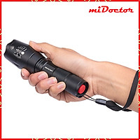 Đèn Pin Mini Siêu Sáng XML-T6 miDoctor - Chính Hãng
