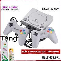 Máy Chơi Game Cầm Tay Mini 4 Nút 2 người chơi 628+20 Trò HDMI - MCG Kết Nối Tivi Hình Ảnh Siêu Sắc Nét phiên bản cầm tay cao cấp nhất thế hệ 2021